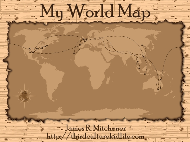 My World Map: The Travels of my Life